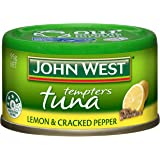 John West Tuna Tempters Lemon and Cracked Pepper 95gm