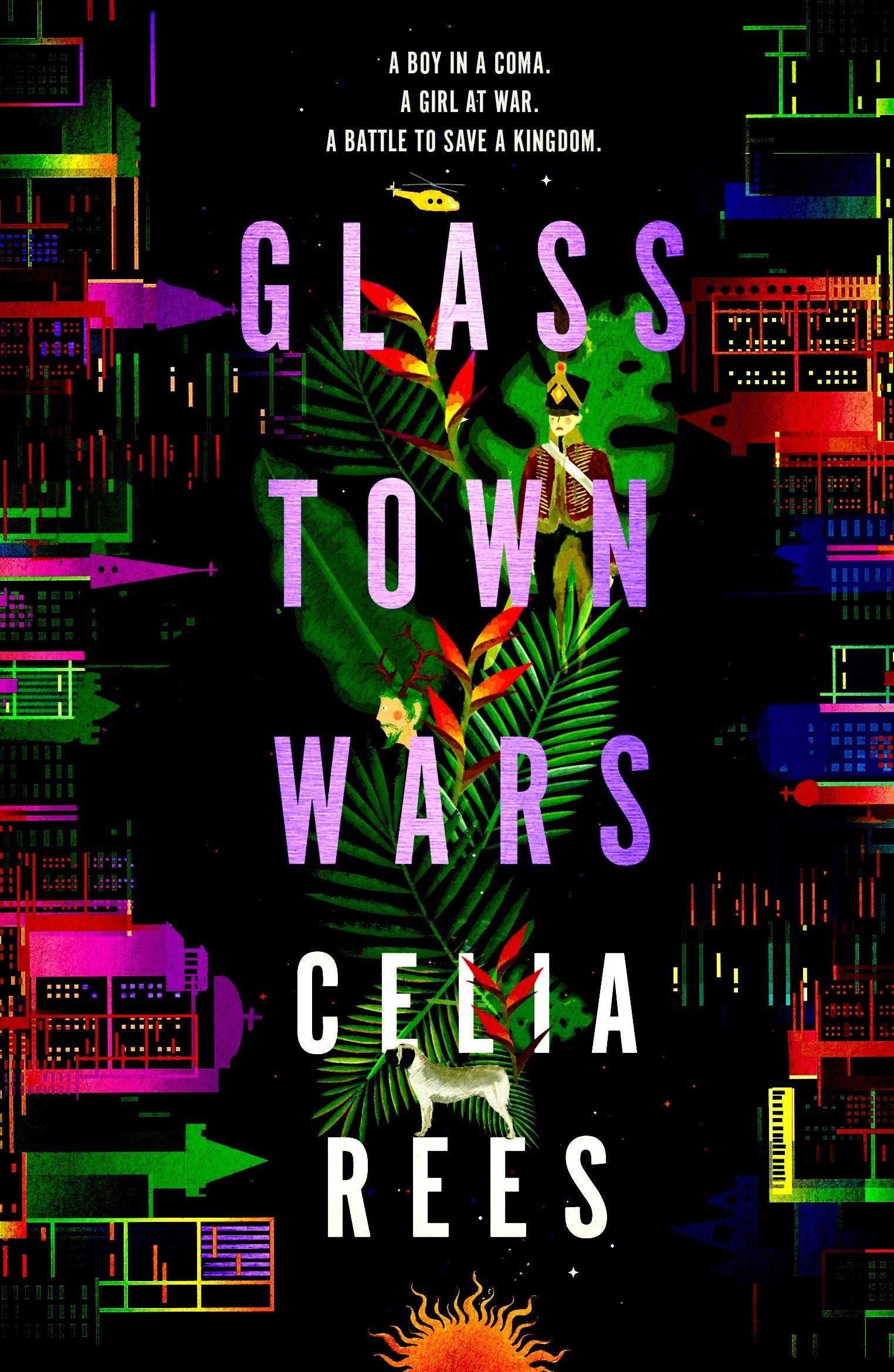 Glass Town Wars: Amazon.co.uk: Celia Rees: Books