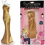 """Fashionette - Look """"Charlize"""" - langes Kleid für Puppen 28-30cm : Barbie, Disney Dolls, Liv, ..."""