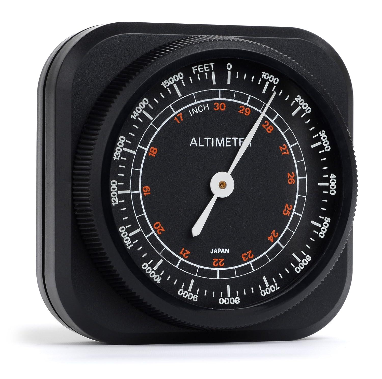 Swift Optical 478 Altimeter/Barometer Weather Instrument, 0 to 15,000' Range, 2-1/16' x 1-15/16' Size 000' Range 2-1/16 x 1-15/16 Size Swift Optical Instruments Inc.
