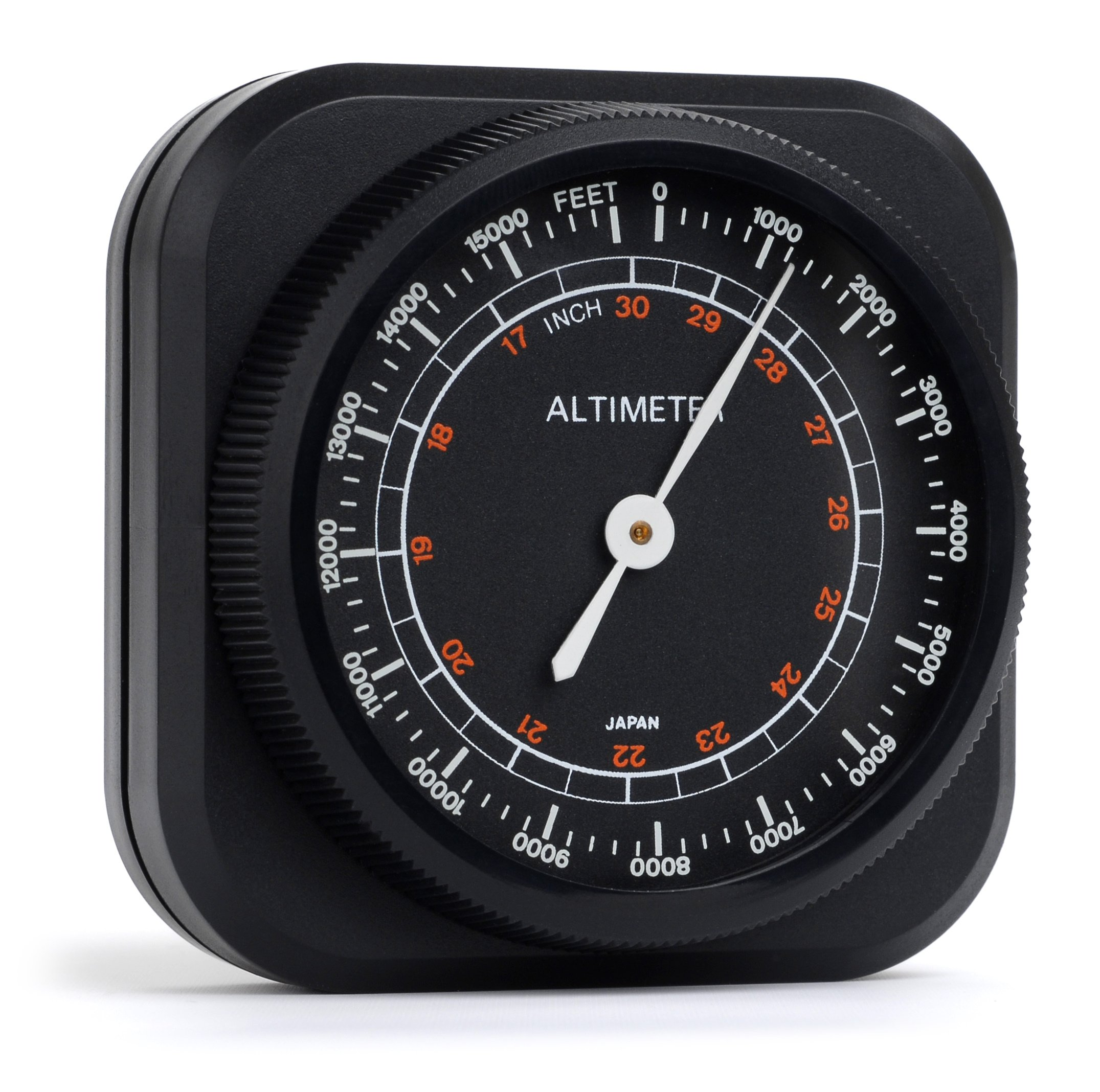 Swift Optical 478 Altimeter/Barometer Weather Instrument, 0 to 15,000' Range, 2-1/16'' x 1-15/16'' Size