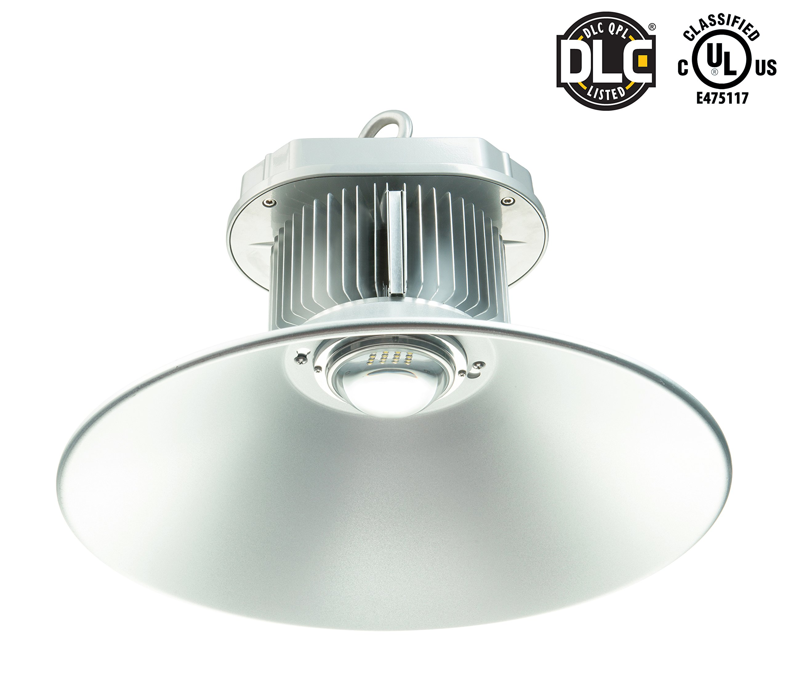 w lighting highbay bay product lenscage high prismatic tcp led