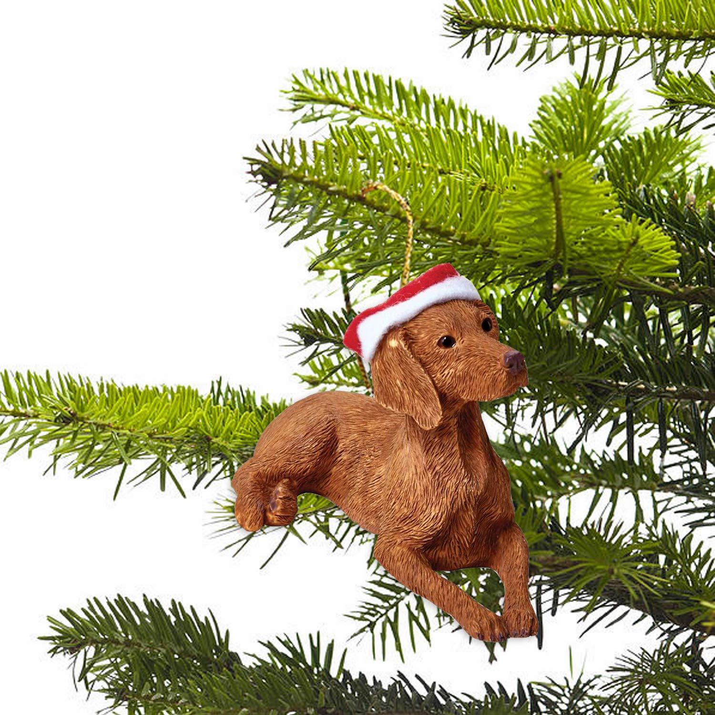 Vizsla Dog Breed Christmas Tree Ornaments
