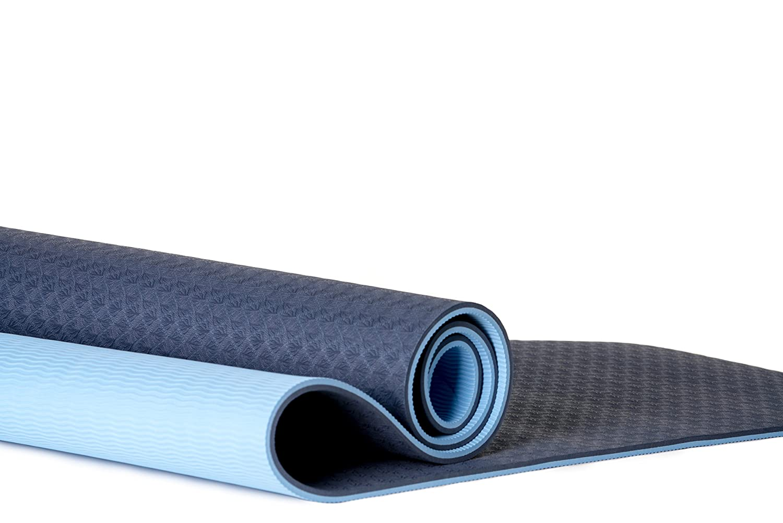 coactive Athletics Premium TPE Yoga mat-extra de grosor (8 ...