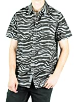 MO7 Men's Camo Print Short-Sleeve Woven Shirt