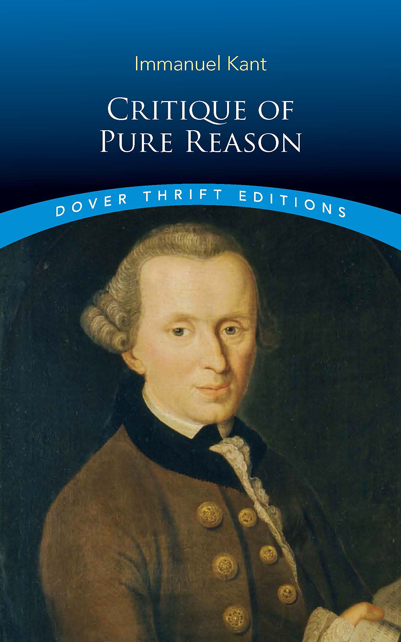 critique of pure reason dover thrift editions