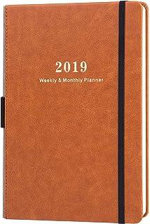 Agenda 2019 Tamaño A5, con Diseño Caballos: Agenda Mensual y ...