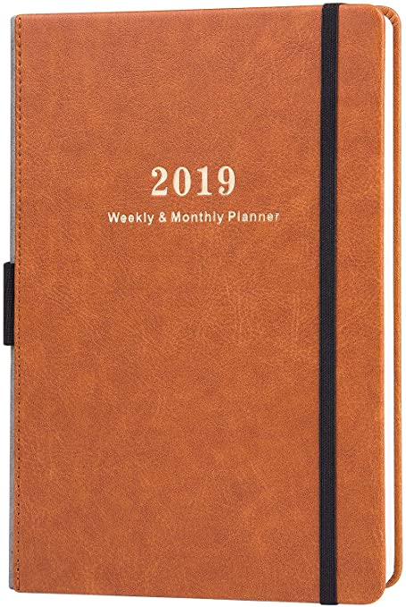 2018 academic year kraft map monthly planner