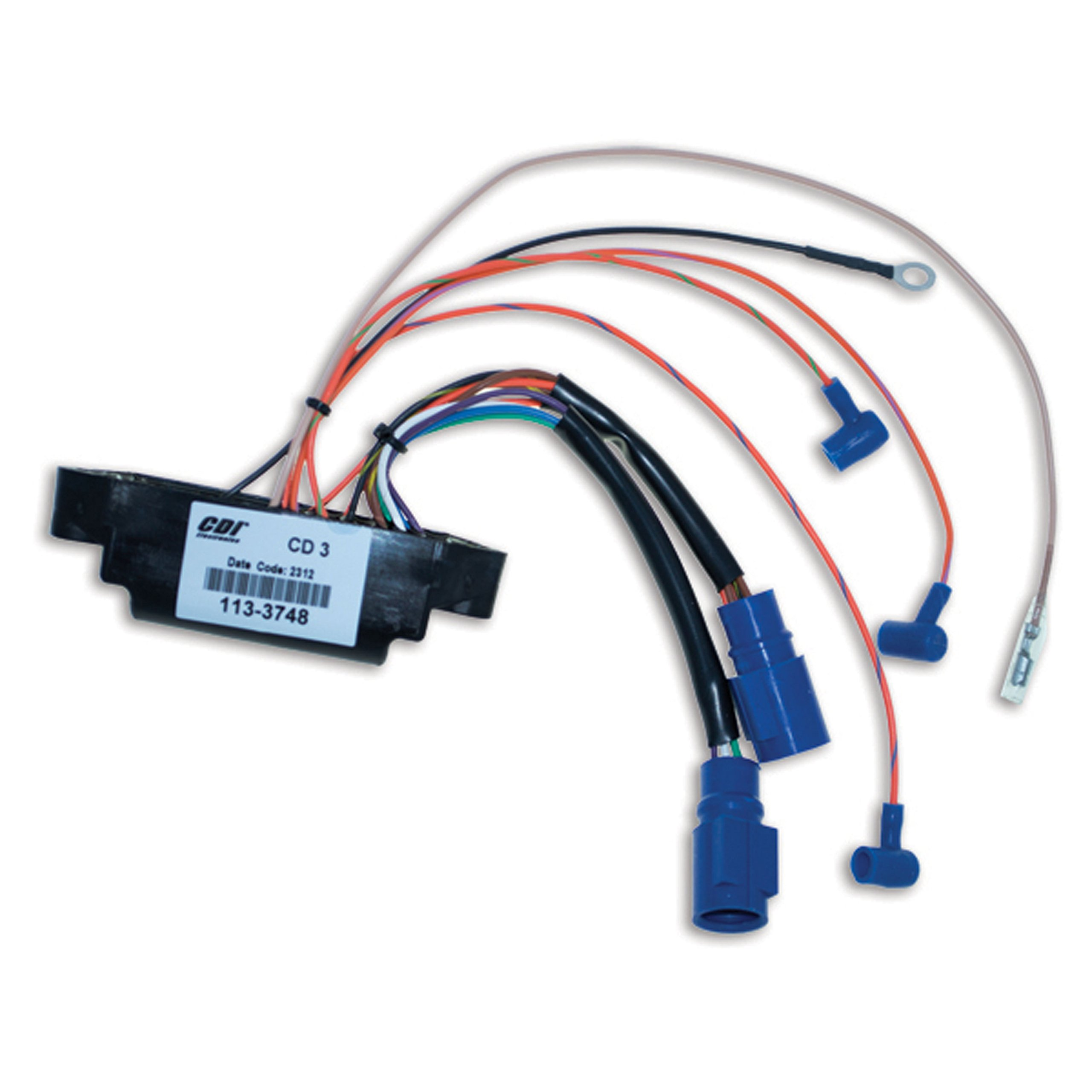 CDI Electronics 113-3748 Power Pack (Johnson/Evinrude - 3 Cyl (1989-1998))
