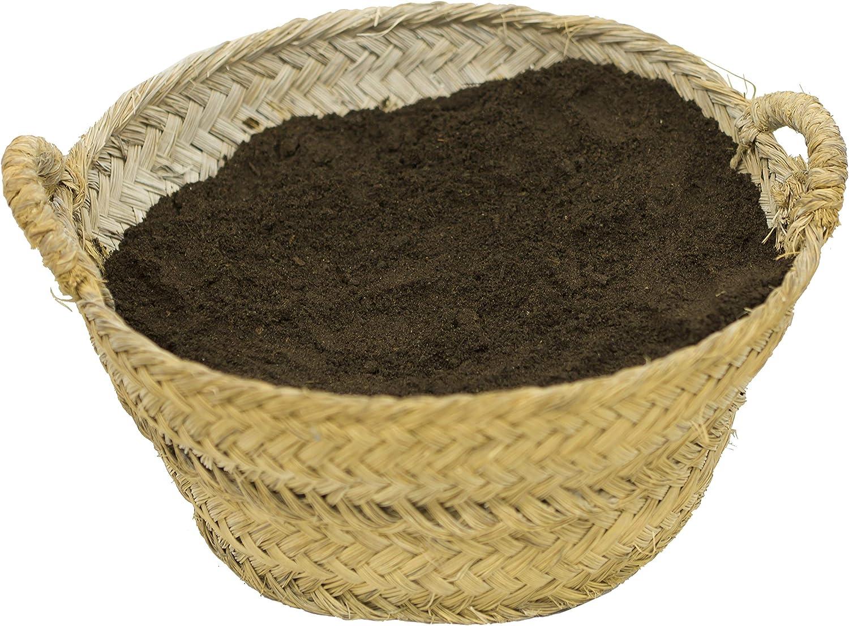 CULTIVERS Humus de Lombriz ecológico 10 kg (20 L). Abono para ...