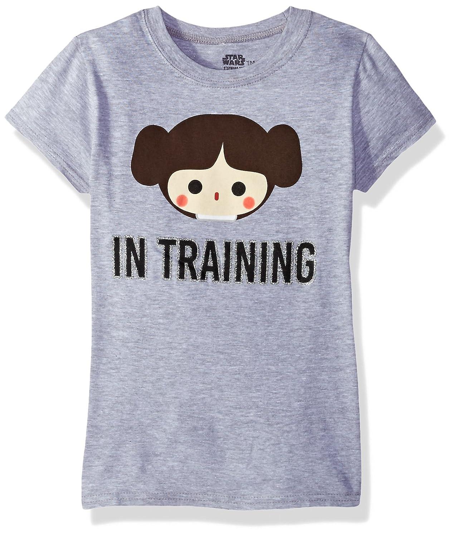 Star Wars Big Girls' Classic in Train Cap Sleeve T-Shirt Freeze Children' s Apparel XRSS900-1300N-1300NJ