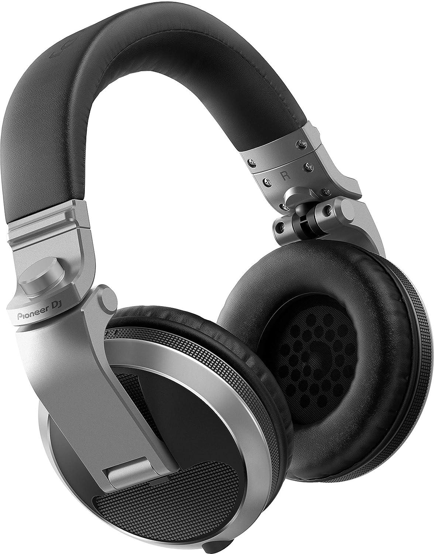 Pioneer HDJ-X5 Silber Ohrumschließend Kopfband - Kopfhörer (Ohrumschließend, Kopfband, Verkabelt, 5-30000 Hz, 1,2 m, Silber) HDJ-X5-S