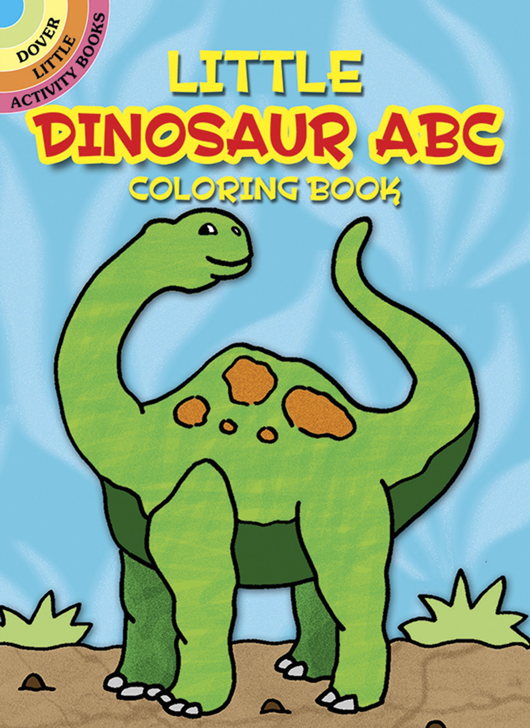 Little Dinosaur Coloring Dover Activity