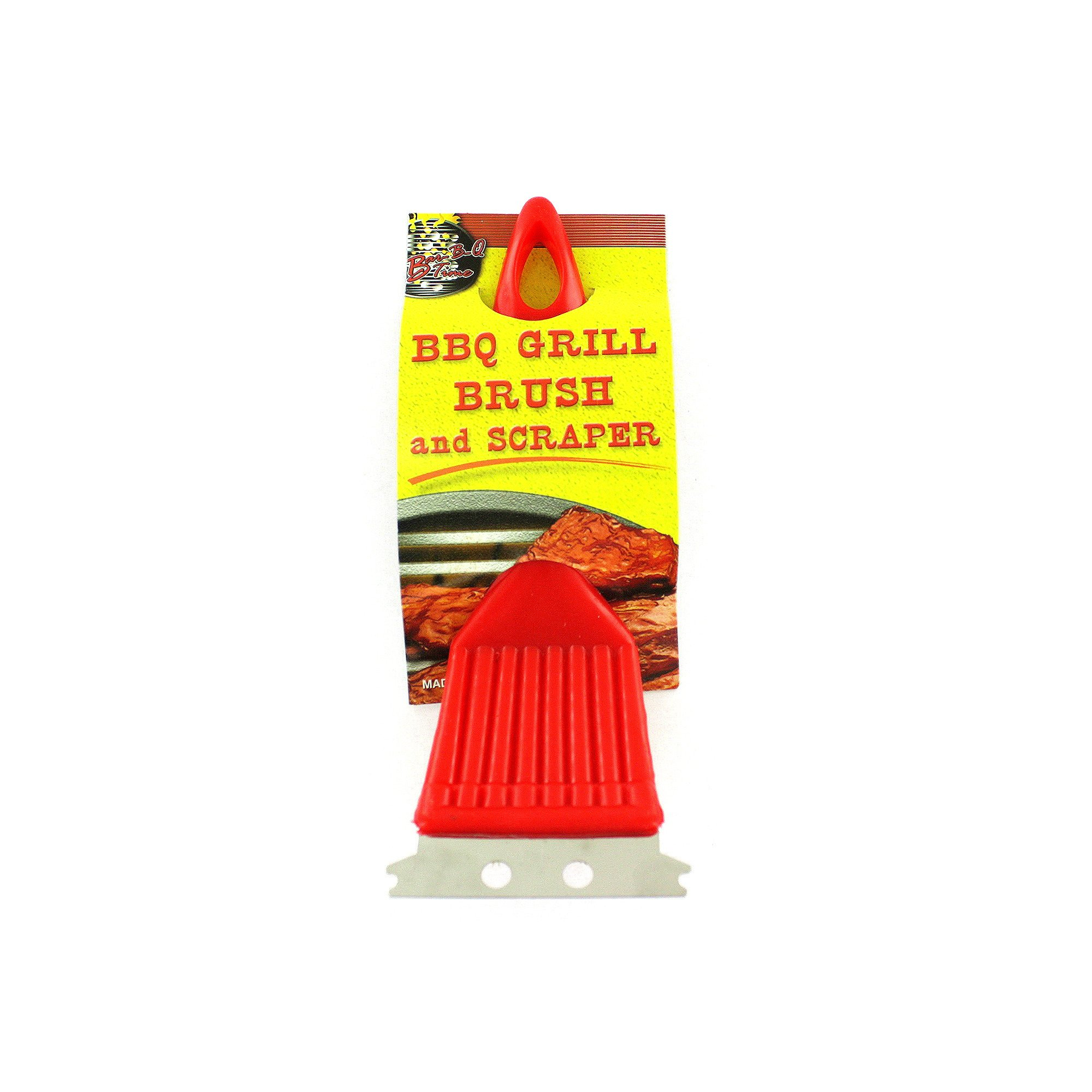 123-Wholesale - Set of 36 BBQ Grill Brush & Scraper - Barbecue BBQ Cleaning Supplies