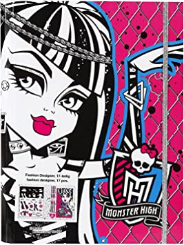 Monster High Mhf12224 Fashion Designer 17 Pieces Amazon Co Uk Toys Games