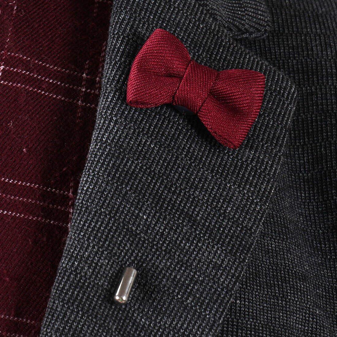 per abito da matrimonio confezione da 6 unit/à da uomo Kilofly Spille a forma di papillon e cravatte