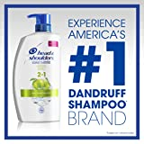 Head and Shoulders Green Apple 2-in-1 Anti-Dandruff Shampoo + Conditioner 32.1 Fl Oz