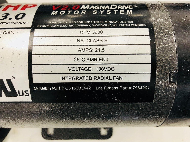 Life Fitness C3456B3442 7964201 - Motor de Transmisión DC ...