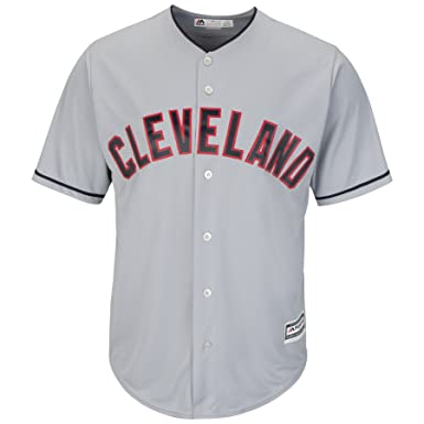 a183e617c Outerstuff Michael Brantley Cleveland Indians #23 Youth Cool Base Road  Jersey Gray (Youth Small
