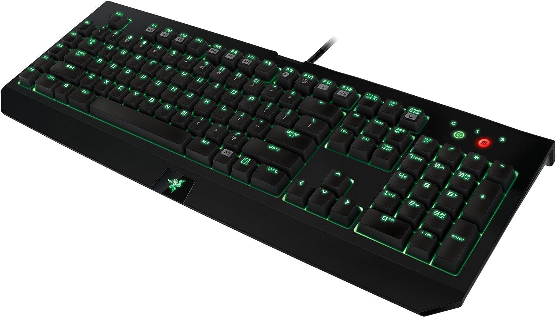 Razer BlackWidow Ultimate 2014 - Teclado QWERTY Español Mecánico de Gaming, Color Negro (PC)