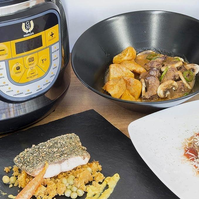 Arrocera multifunción GM Modelo Beta. Robot de cocina, olla ...
