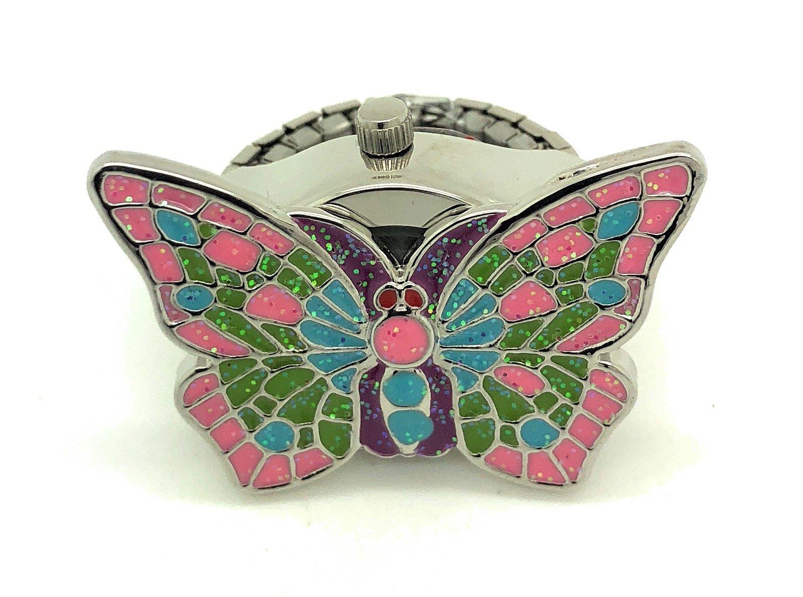 Ladies Elegant Ring Finger Fashion Watch Butterfly Versales