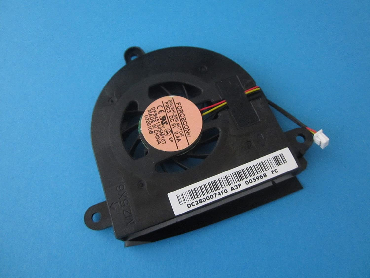 Gametown CPU Cooling Fan For Acer Aspire 5538 5538G 5534 Series DFS451305M10T AB6005HX-EC3