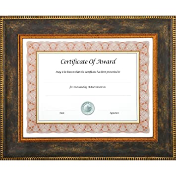 Juvale 2-Pack Award Certificate Frames for 8 x 11 Inch Documents