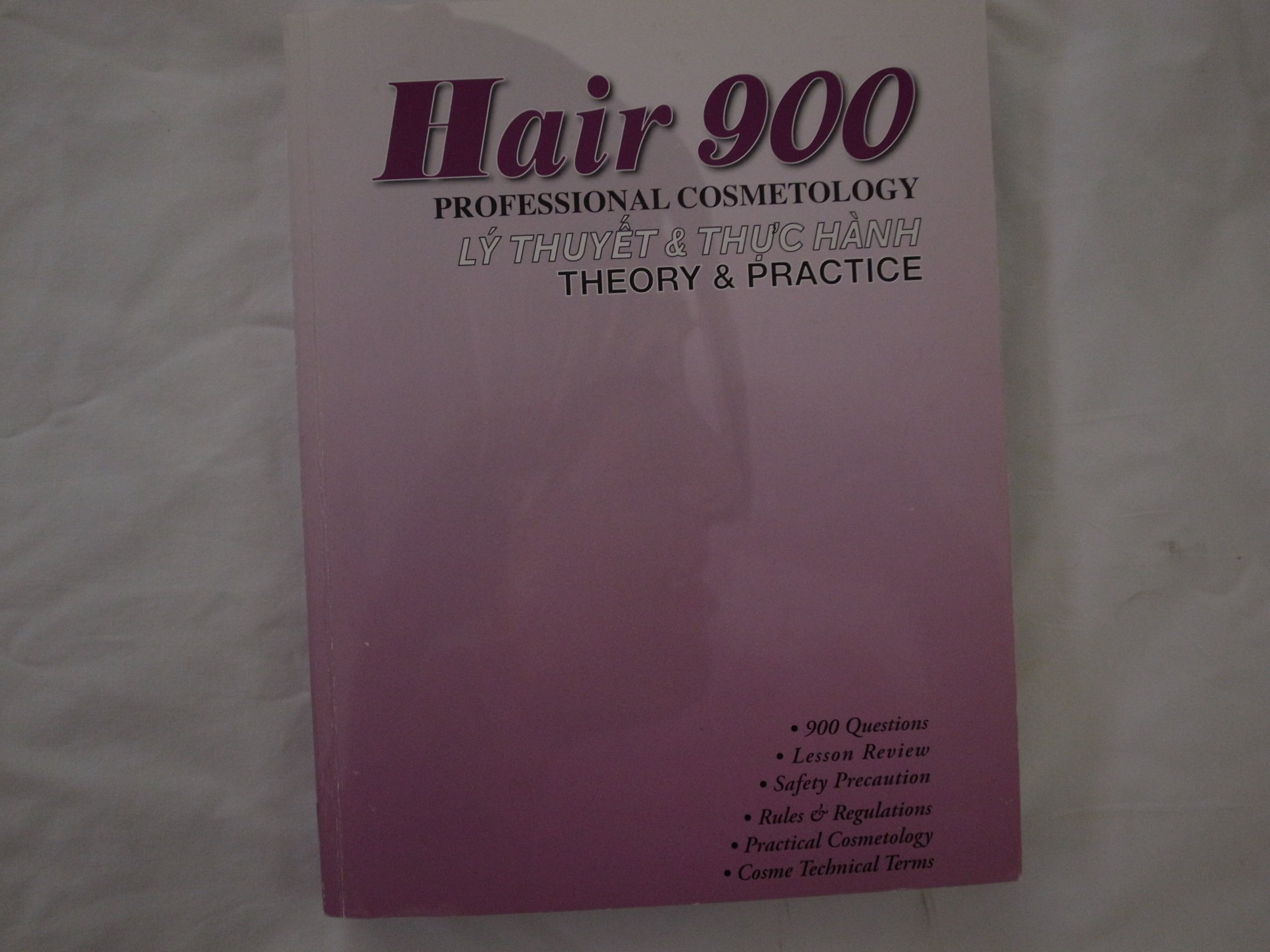 Hair 900 professional cosmetology theory practice van le hair 900 professional cosmetology theory practice van le 9780979965128 amazon books fandeluxe Images