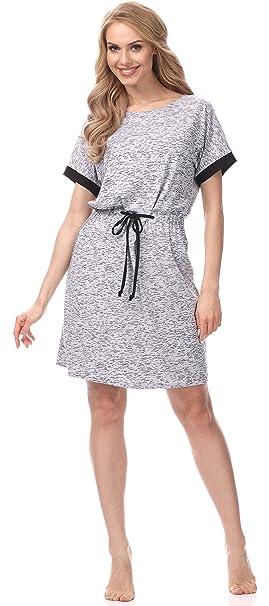 Merry Style Pijamas Mujer Verano Camisones Camisón Lenceria Sexy Vestido de Dormir MSFX307 (Mezcla de