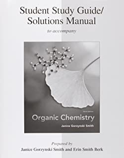 Organic chemistry janice gorzynski smith 9780077354725 amazon study guidesolutions manual for organic chemistry fandeluxe Gallery