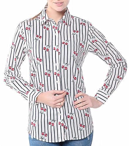 Dioufond - Camisas - para mujer StriCherry