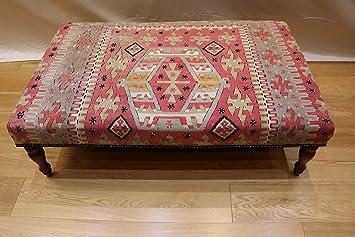 Rug store kilim turco ottomano sgabello tavolo dimensioni x