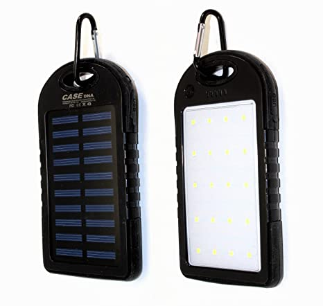 Amazon.com: Cargador solar/20 luces LED, Portable Solar ...