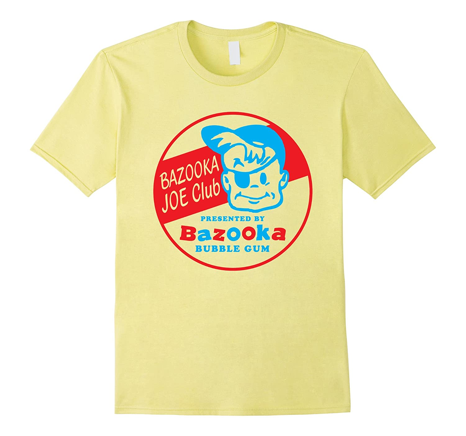 Bazooka Joe Funny Retro College Picture Humor for Men Woman-TD