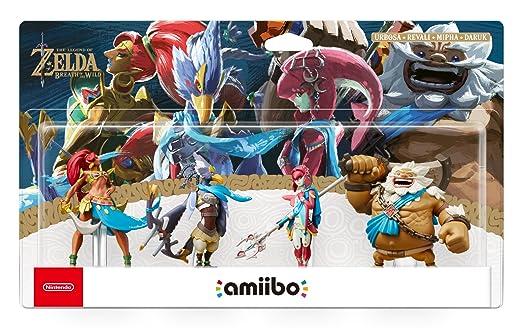 The Legend of Zelda: Breath of the Wild - Champion's Amiibo 4-Pack (