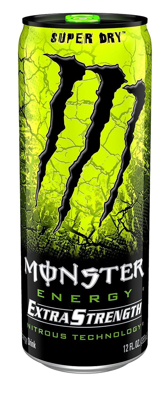 Monster High Ebay >> Monster Energy Extra Strength, Super Dry, 12 Ounce (Pack of 12) | eBay