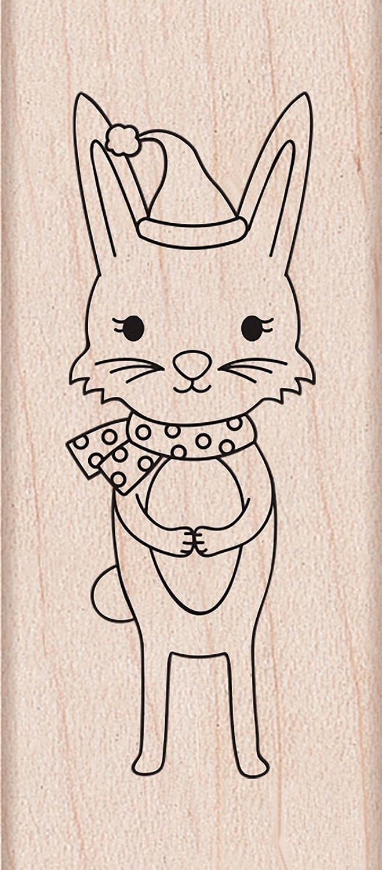 Hero Arts Winter Bunny