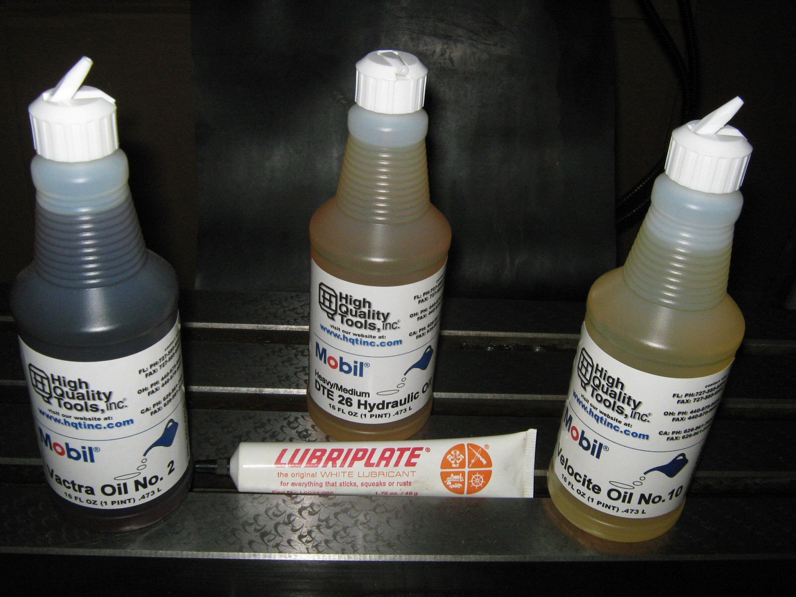 LUBRICATION MAINTENANCE KIT FOR MILLING MACHINE (EXPEDITED DELIVERY NOT AVAILABLE) by High Quality Tools