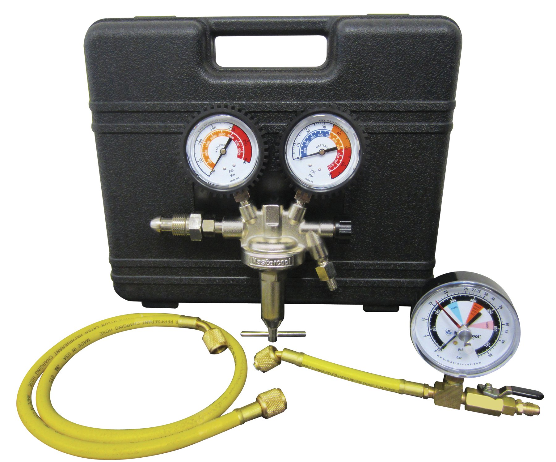 Mastercool (53010) Silver Pressure Test Regulator Kit