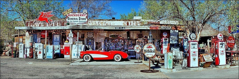 Corvette Highway Route 66 Sign Arizona