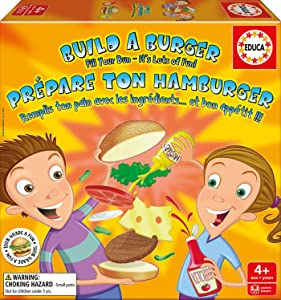 Educa Children's Build a Burger Puzzle