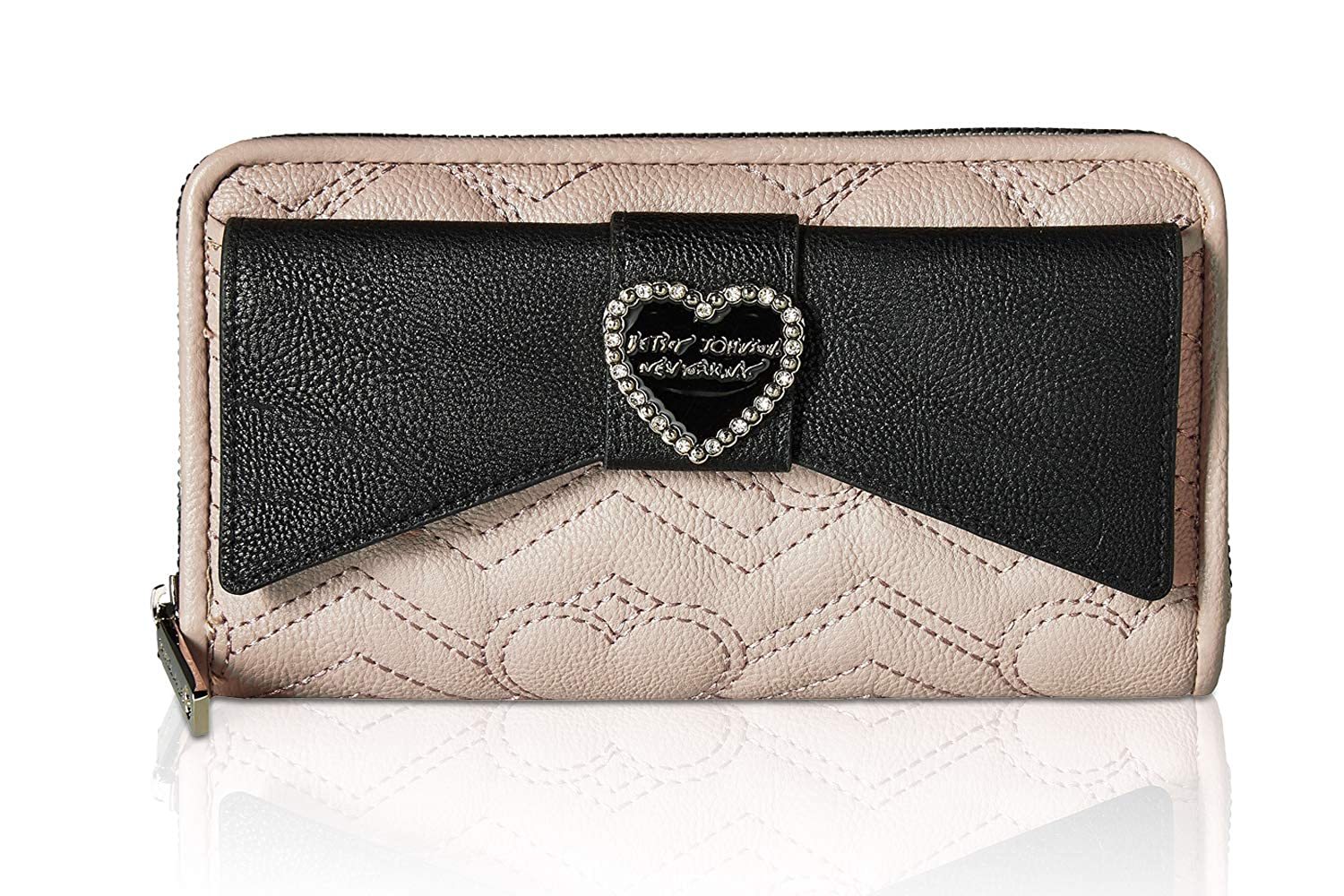 Betsey Johnson Womens Large Bow Wallet