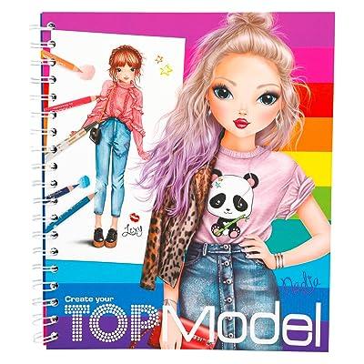 Top Model- Libro para Colorear (005028): Juguetes y juegos
