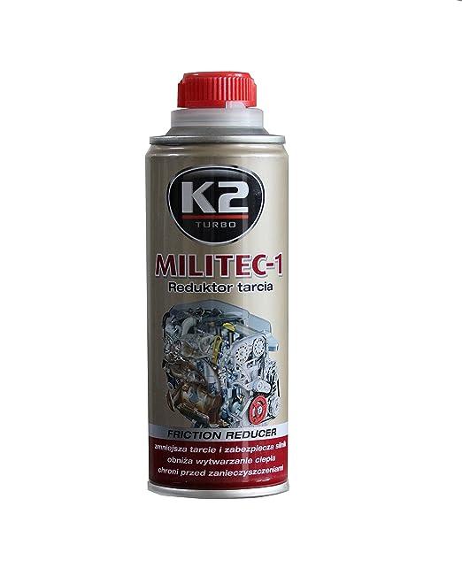 Aceite K2 Militec para tratamiento de metal, revitalizador de motor, reduce la fricción de la caja de engranaje, 250 ml: Amazon.es: Coche y moto
