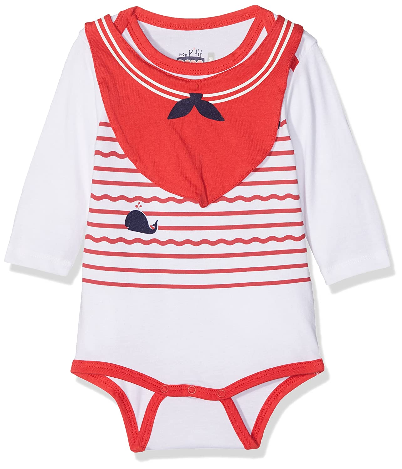 Bright Red Baby Vest//Bodysuit Baby Shower Gift RED Blank Plain Baby Grow for Boys or Girls by BABY MOOS UK New Baby Gift Ideal for Printing or Embroidery 3-6 Months