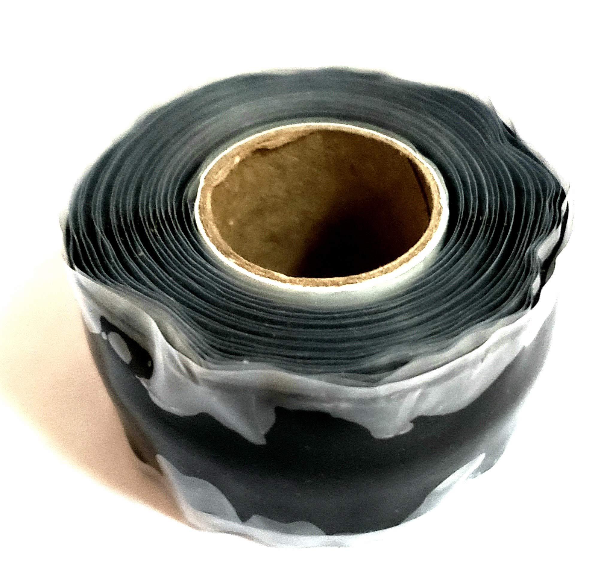 Bonsai Raffia Tape - Streatches 300% - Used to Help Bend Branches (Black)