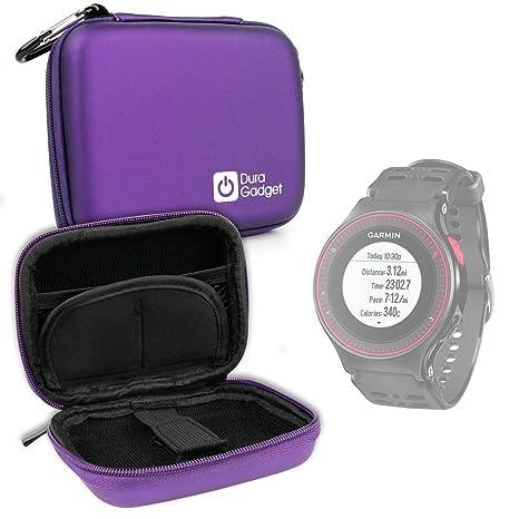 Housse étui rigide en violet pour montre connectée Garmin Forerunner 630, 230 GPS Sports,