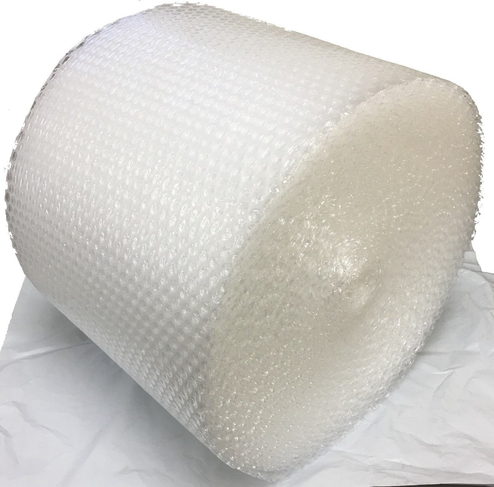 USPACKSHOP 175' 3/16'' Small Bubble Cushioning Wrap Perforated Every 12'', 12'' Wide