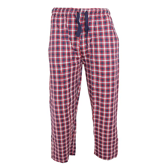 Jason Jones - Pantalones de Pijama a Cuadros para Hombre (Pequeña (S)/